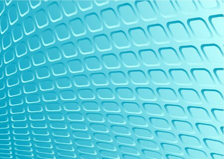 Blue 3d metal vector retro background