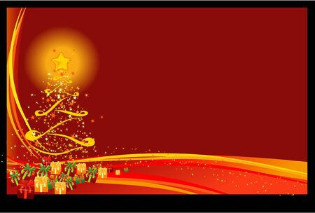 Christmas Background 4 - Red Christmas Eve