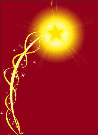 brilliancy: Sparkling Star Illustration