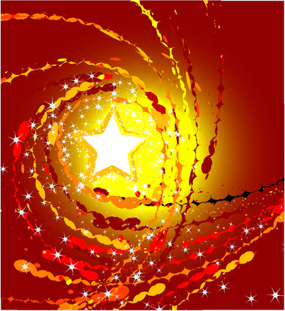 brilliancy: Abstract sparkling stars