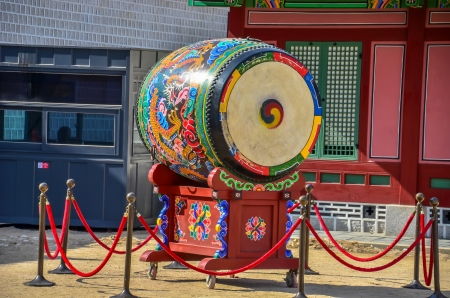 Korea victory drum photo