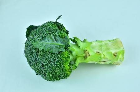 Organic broccoli photo