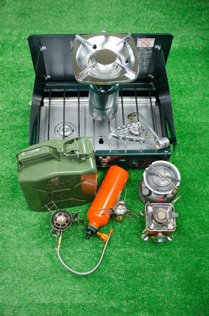 type of camping stove for choosing to with your kind of purpose  Stock Photo - 22926613