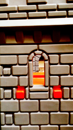 romp: Blocks, the walls of the castle Castle Toys Children can romp thats nurseries.