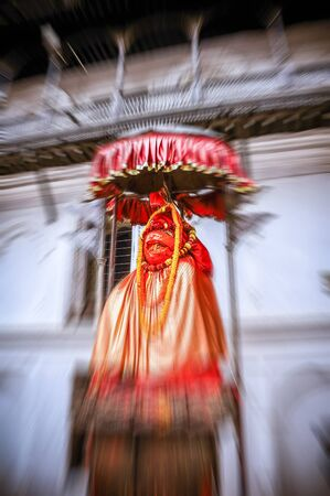 Sacred statue Artwork Made of sturdy material. Doing in a way that makes people respect and worship is a mind-boggling. Abstraction Zoom - Blur Stock Photo