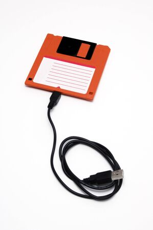 diskette: usb diskette Stock Photo