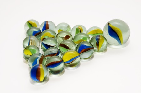 agglomeration: marbles