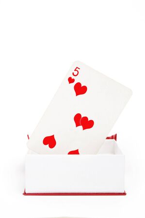 poker hearts photo