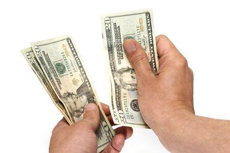 contando dinero: contar dinero
