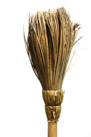 expel: broom Stock Photo