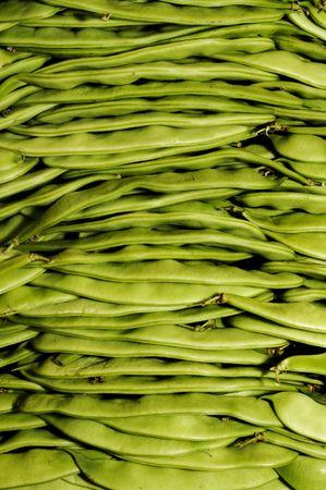 green beans: jud�as verdes Foto de archivo