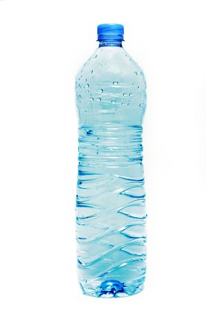plastic bottle: water bottle