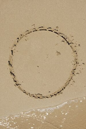 o in the sand photo