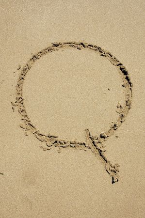 q in the sand photo