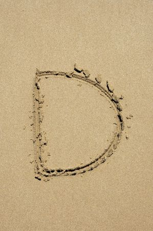 d in the sand photo