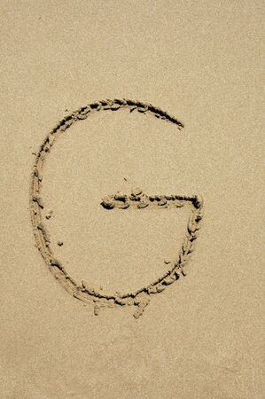 g in the sand photo