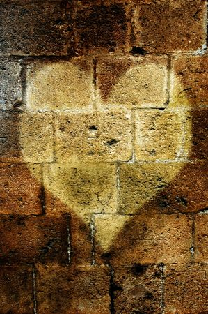 inorganic: heart in the wall