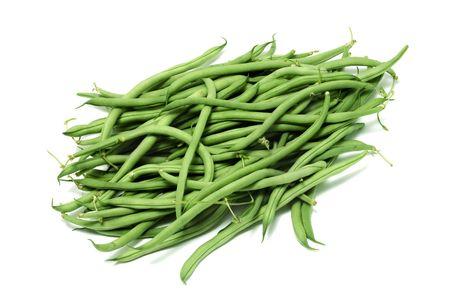 garden bean: french beans Stock Photo