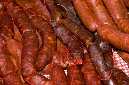 llonganissa: spanish chorizo