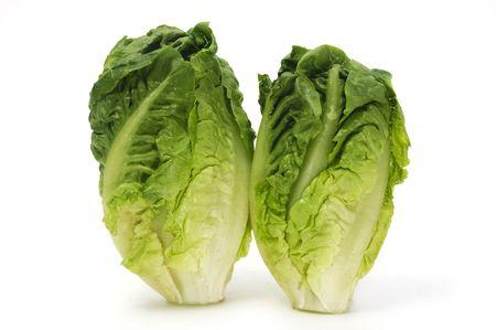 lactuca: lettuce heart Stock Photo