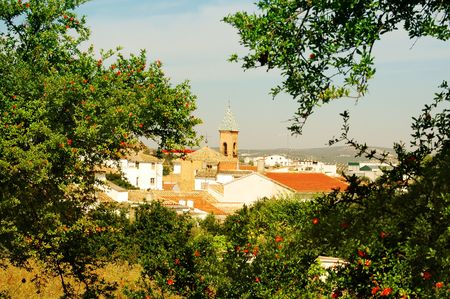 marcos: town in andalusia,spain Stock Photo