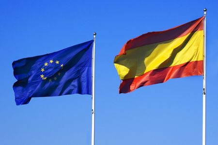 abstention: spain in europe Stock Photo