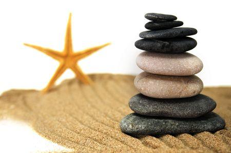 stones and starfish Stock Photo - 5307151