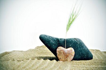 love stone Stock Photo - 5307145