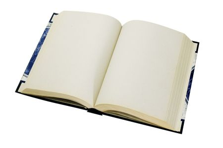 leeres buch: leere Buch