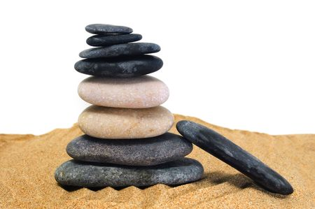 stones zen Stock Photo - 5353374