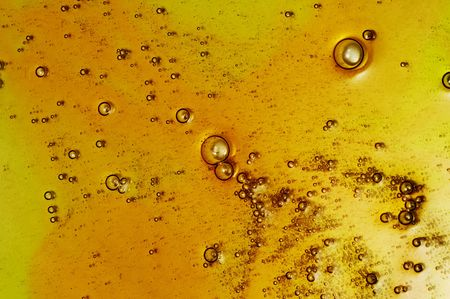 effervescence: bubbles Stock Photo