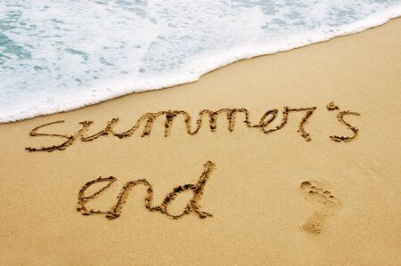 summers: summers end Stock Photo