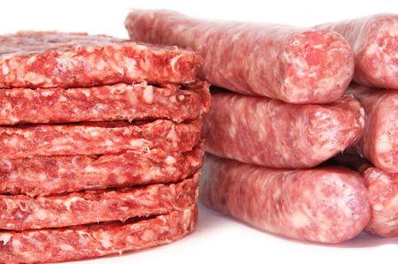llonganissa: meat Stock Photo