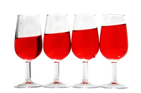 wine in glasses Stock Photo - 5817314
