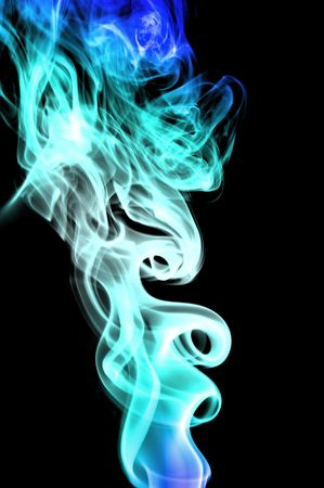 airiness: smoke Stock Photo