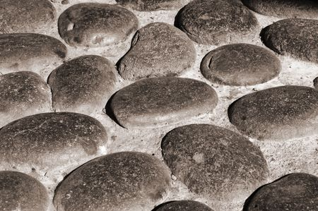 zen stones background white and black , spa Stock Photo - 5919088