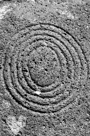 a zen stones background white and black Stock Photo - 5991405