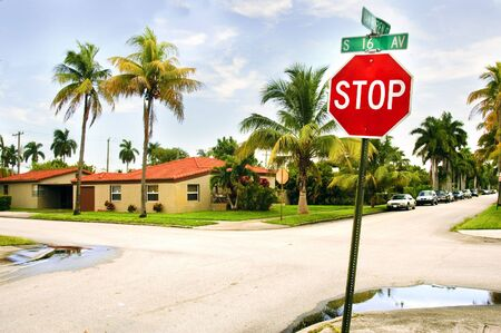 a view of Miami Beach, Florida, USA photo
