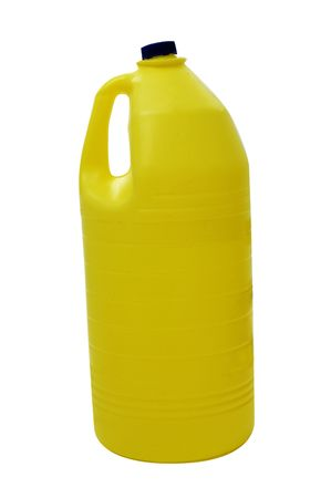a bottle of bleach isolated on a white background Stock Photo - 6377132