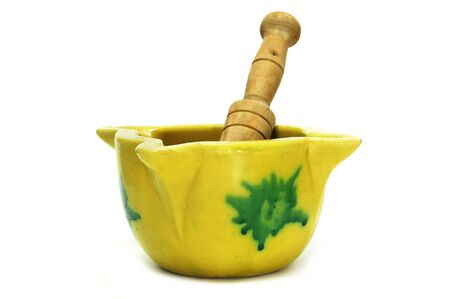 a kitchen mortar and pestle typical of Spain photo