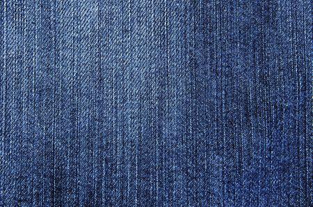 Der blaue Jeans Denim Textur Hintergrund hautnah Standard-Bild