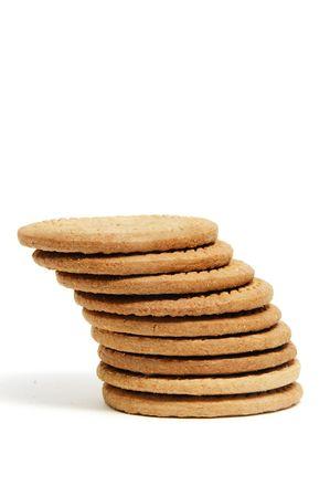 maria: Closeup eines Haufens von einem Kekse Lizenzfreie Bilder