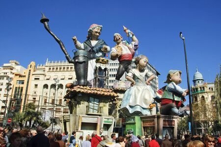 Fallas of Valencia, Spain, on 2010 march 17th Stock Photo - 6890428