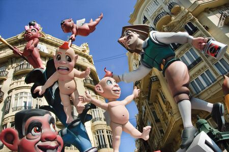 Fallas of Valencia, Spain, on 2010 march 17th Stock Photo - 6890429