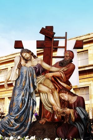 image of the Descent from the Cross photo