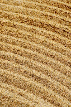 closeup of sand isolated on a white background Stock Photo - 7046755