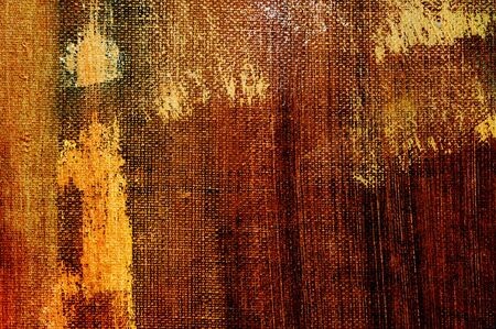brushstrokes of different colors on a canvas Stock Photo - 7255700