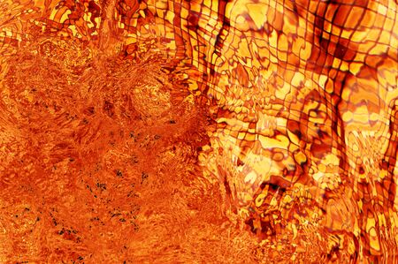 degraded: an orange abstract and liquid degraded background