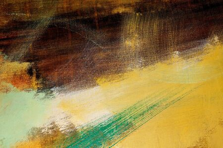 brushstrokes: brushstrokes of different colors on a canvas