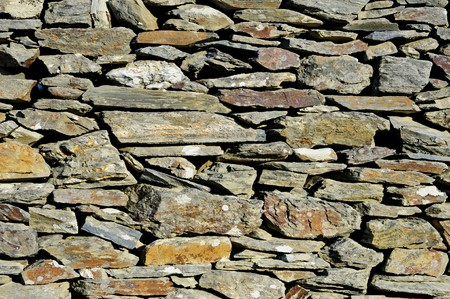 background made of a close-up of a stone wall photo